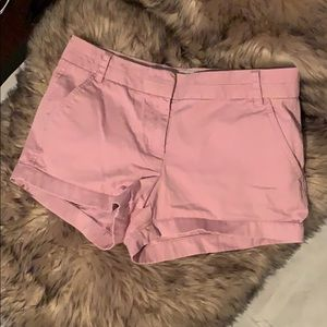 J.Crew Chino Shorts size 4 Color Pink